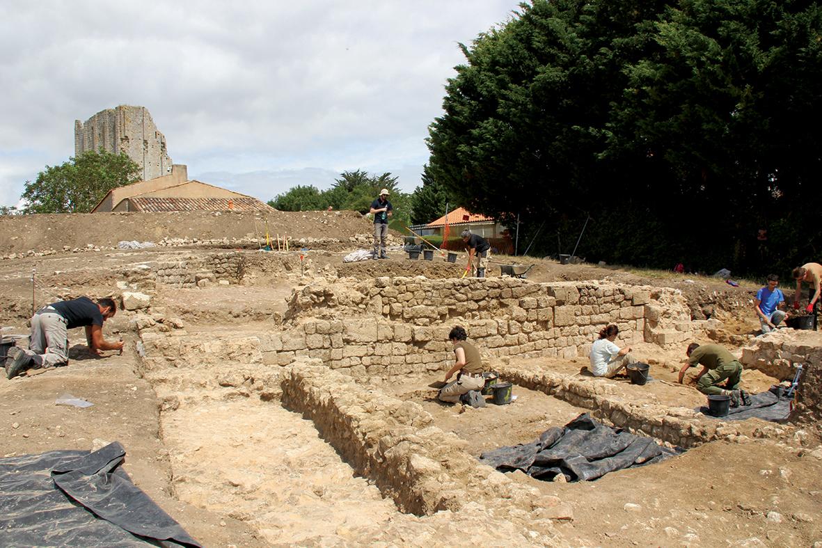 12 août – 17h – Fouilles archéologiques